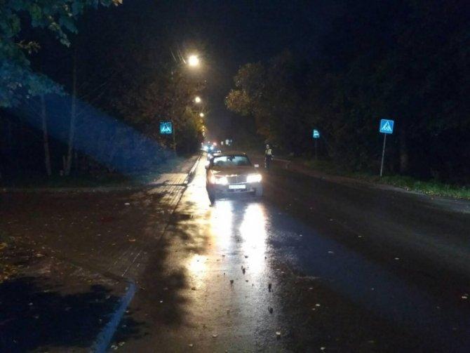 В Калининграде иномарка насмерть сбила женщину на переходе