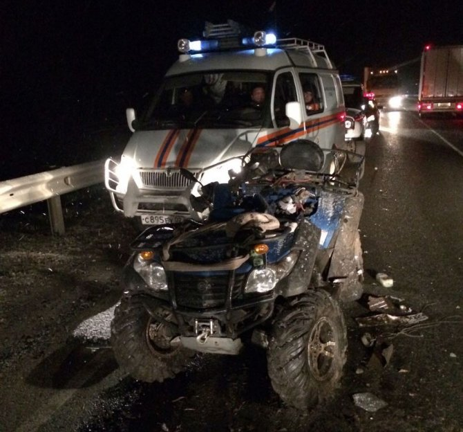 Водитель квадроцикла погиб в ДТП в Башкирии (2)