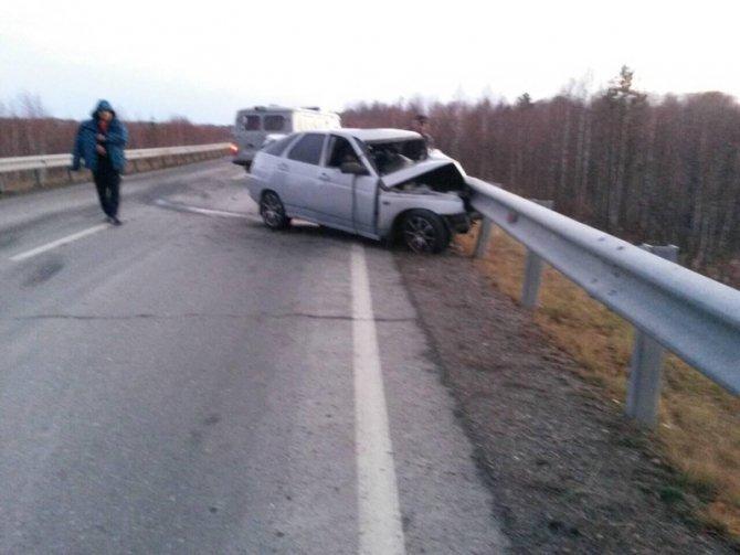 Два человека погибли на трассе Аромашево – Вагай (1)