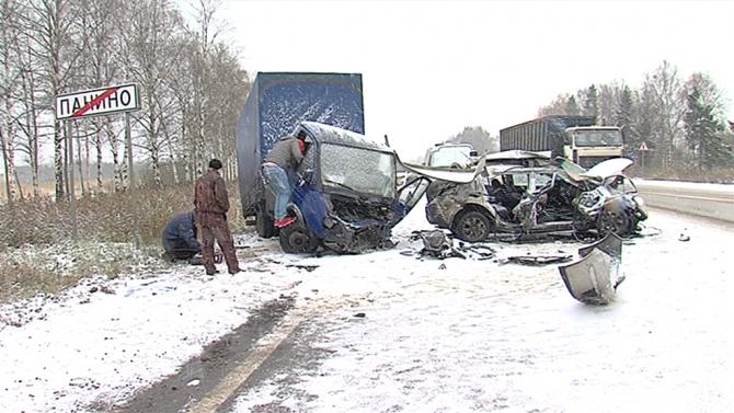 В ДТП на трассе Ярославль – Рыбинск погиб человек