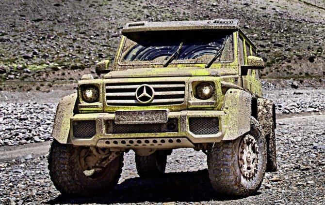 Mercedes-Benz G500 4×4² (5)