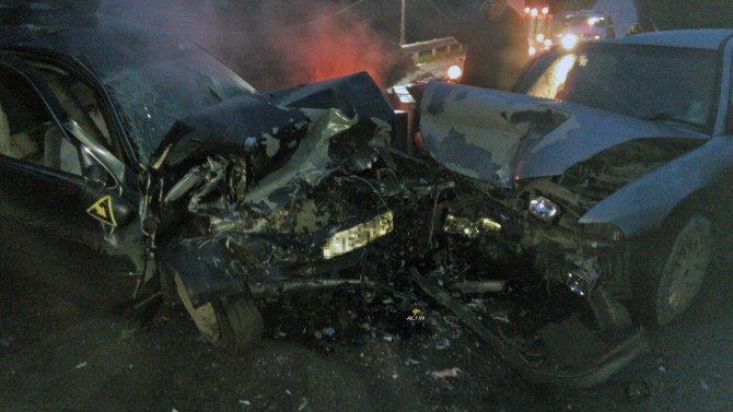 Водитель иномарки погиб в ДТП под Кольцово (3)
