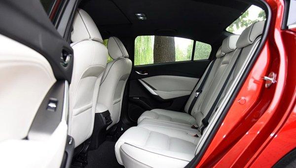 В Сети появились фото новой Mazda 6 (1)