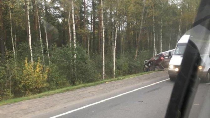 Трое детей пострадали в смертельном ДТП в Волховском районе Ленобласти (1).jpg