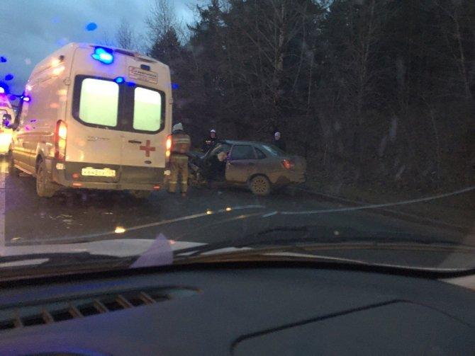 В ДТП в Перми пострадали два человека