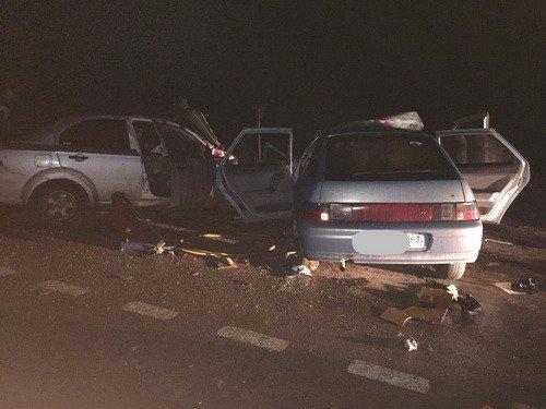 Трое взрослых и ребенок погибли в ДТП под Оренбургом
