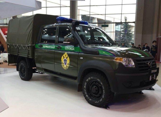 """УАЗ """"Профи"""" для пограничных служб"""