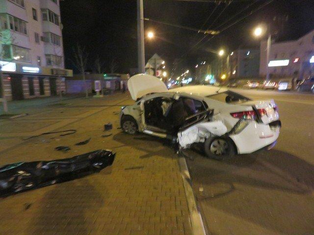 Пассажирка KIA погибла в ДТП в Новороссийске