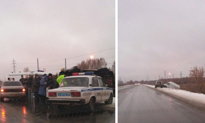 Двое детей пострадали в серьезном ДТП с маршруткой в Омске