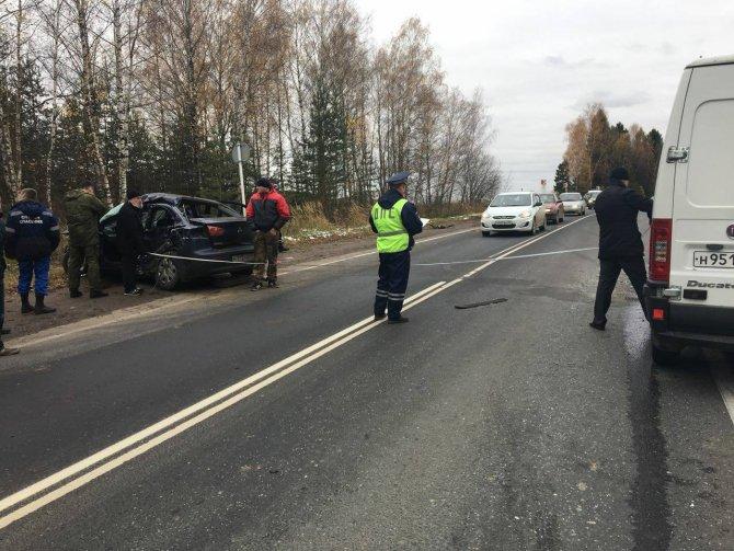 Два человека погибли в ДТП на трассе Ростов - Иваново - Нижний Новгород в Шуйском районе (7)