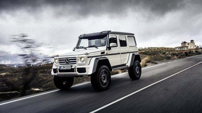 Mercedes-Benz G500 4×4² (6)