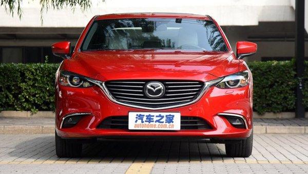 В Сети появились фото новой Mazda 6 (7)
