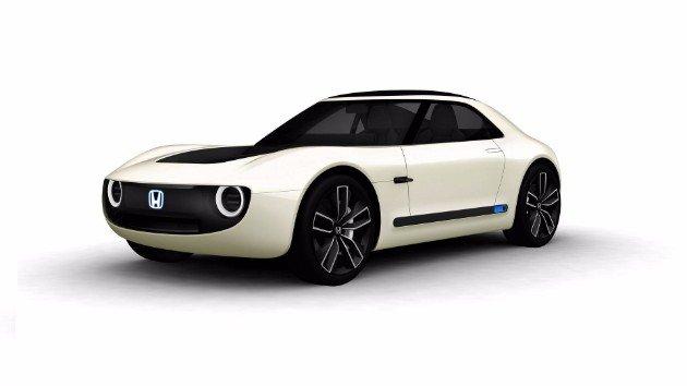 Honda представила электрический спорткар Sports EV (2)