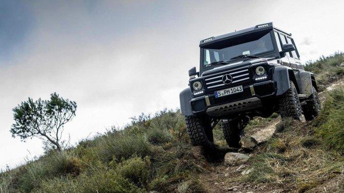 Mercedes-Benz G500 4×4² (8)