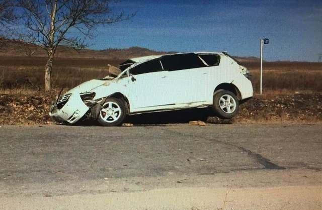 20-летняя пассажирка иномарки погибла в ДТП в Бурятии (2)