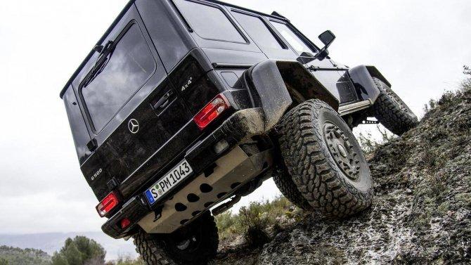 Mercedes-Benz G500 4×4² (1)