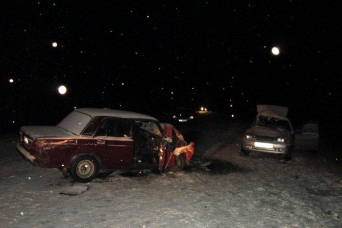 25-летний пассажир ВАЗа погиб в ДТП под Копейском (1)