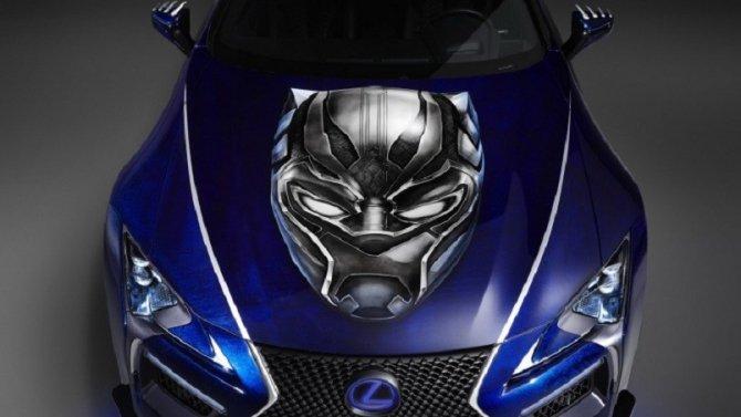 Lexus создали купе для Черной Пантеры (1)