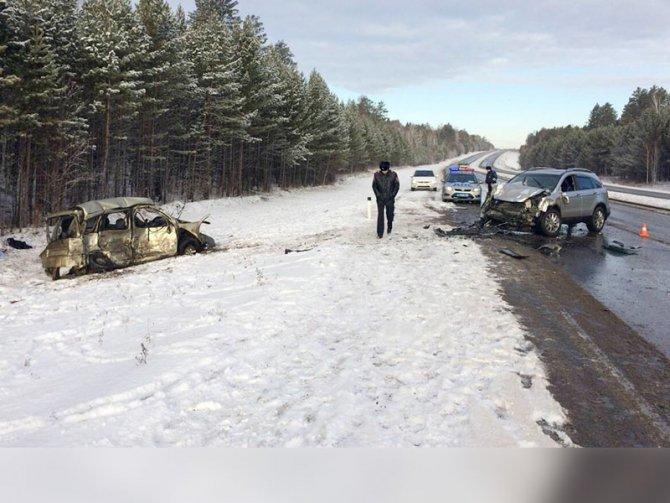 Три человека погибли в ДТП на трассе «Сибирь» в Иркутской области (2)