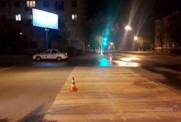 В Волгограде 17-летнюю девушку сбили на переходе