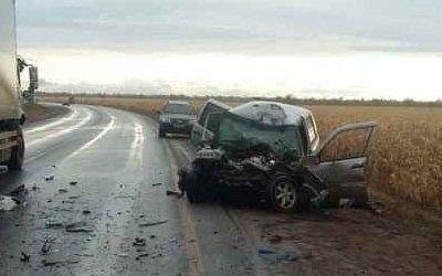 Водитель «Нивы» погиб в ДТП с фурой в Бузулукском районе