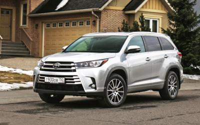 Российская Toyota ввела новую линейку комплектаций и скинула цены на кроссовер Highlander