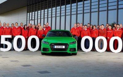 Венгерский завод Audi выпустил 500-тысячный автомобиль