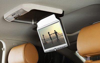 Потолочные мониторы для автомобилей - какие и для чего