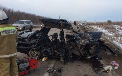 Три человека погибли в ДТП в Кинель-Черкасском районе