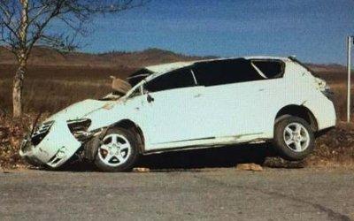 20-летняя пассажирка иномарки погибла в ДТП в Бурятии