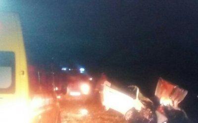 Семейная пара погибла в ДТП с КамАЗом в Татарстане