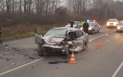 Водитель ВАЗа погиб в ДТП под Ачинском