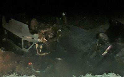 В Ленобласти перевернулась маршрутка: семь человек пострадали, в том числе ребенок