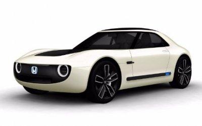 Honda представила электрический спорткар Sports EV