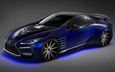 Lexus создали купе для Черной Пантеры