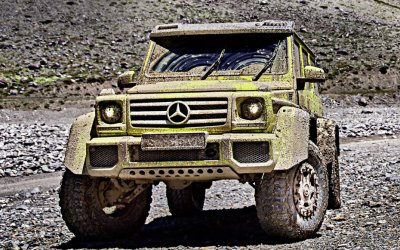 Mercedes-Benz прекратит выпуск экстремального внедорожника G500 4×4²