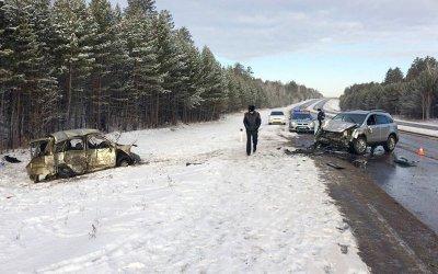 Три человека погибли в ДТП на трассе «Сибирь» в Иркутской области