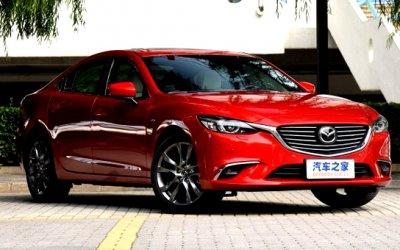 В Сети появились фото новой Mazda 6