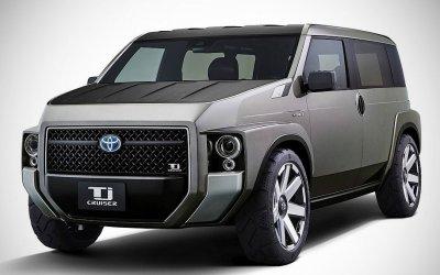 Toyota представила концепт кросс-минивэна Tj Cruiser