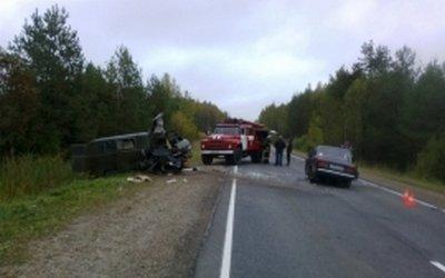 Один человек погиб и 9 пострадали в ДТП на трассе «Вятка» в Кировской области