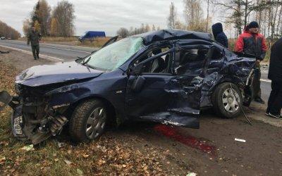 Два человека погибли в ДТП на трассе Ростов - Иваново - Нижний Новгород в Шуйском районе
