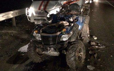 Водитель квадроцикла погиб в ДТП в Башкирии