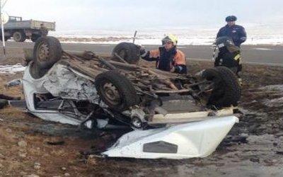 В ДТП в Туве погибли трое взрослых и ребенок