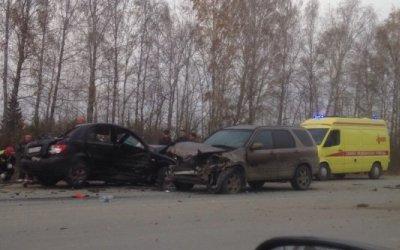 На Полевском тракте в ДТП с самосвалом погибла женщина