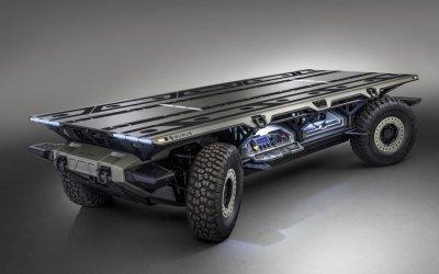 General Motors создали автономное грузовое шасси SURUS