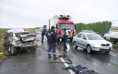ДТП с погибшими произошло в Рыбно-Слободском районе Татарстана