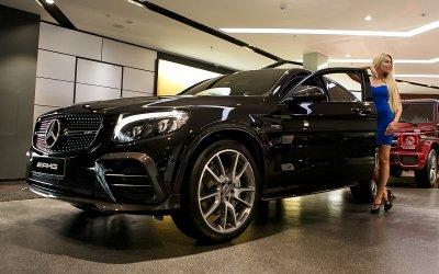 Mercedes-AMG GLC 43: завораживающая сила в чистом виде в АВИЛОНе