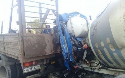 В Казани в ДТП погиб водитель бетономешалки
