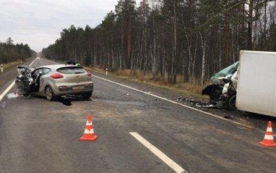 Водитель иномарки погиб в лобовом ДТП на трассе «Кола»