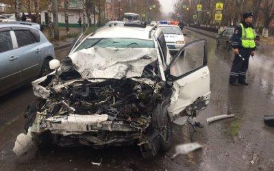 Мужчина погиб в ДТП в центре Томска